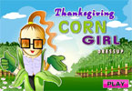 Thanksgiving Corn Girl Dressup