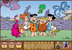 Os Flintstones - encontrar os alfabetos