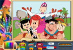 The Flintstones reis online kleurplaat