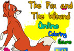The Fox And The Wound Online Coloring Game