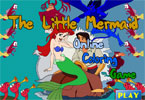 The Little Mermaid 1 Online Coloring Game