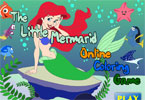 The Little Mermarid Online Coloring Game