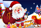 The Santa Claus Dress Up