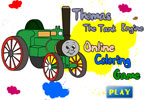 Thomas The Tank Engine Online Coloring Game