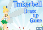 Tinkerbell Dressup Game