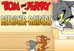 Tom y Jerry en invasores refrigerante