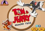 Tom and Jerry Memory Tiles