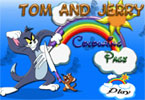 Tom and Jerry Online Coloring Page