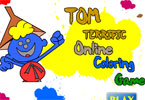Tom Terrific Online Coloring Game