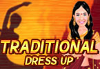 traditionellen dress up