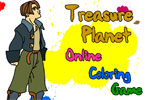 Treasure Planet Online Coloring Game