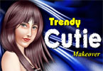 trendy Cutie make-up
