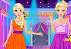 twin barbie op spa salon