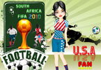USA Fan Dressup