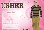 Usher Dress Up Game