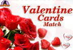 valentine kort match