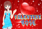 Valentine rose