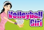 volley-ball fille habiller