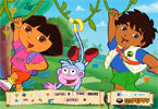 Walking Dora - Hidden Objects