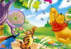 Winnie the Pooh - versteckten Zahlen
