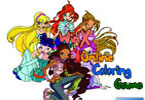 Winx 1 Online Coloring Game