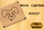 Wood Carving Doggy