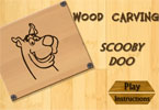 Wood Carving Scooby Doo