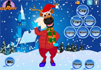 x-mas rendieren dress up