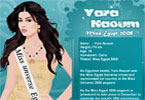 Yara Naoum - Miss Egypt 2008