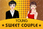 Young Sweet Couple Dressup