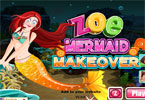 Zoe Mermaid Makeover