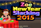 Zoe New Year Slacking 2015