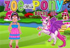 zoe mit Pony dress up