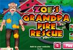 Zoe's Grandpa Fire Rescue