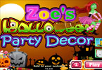 zoe\'s halloween party decor