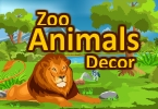 zoo djur dekor