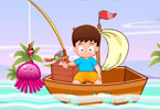 Play Holiday Fishing Game
